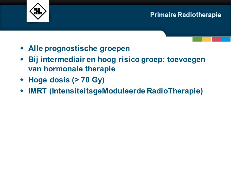 Primaire Radiotherapie