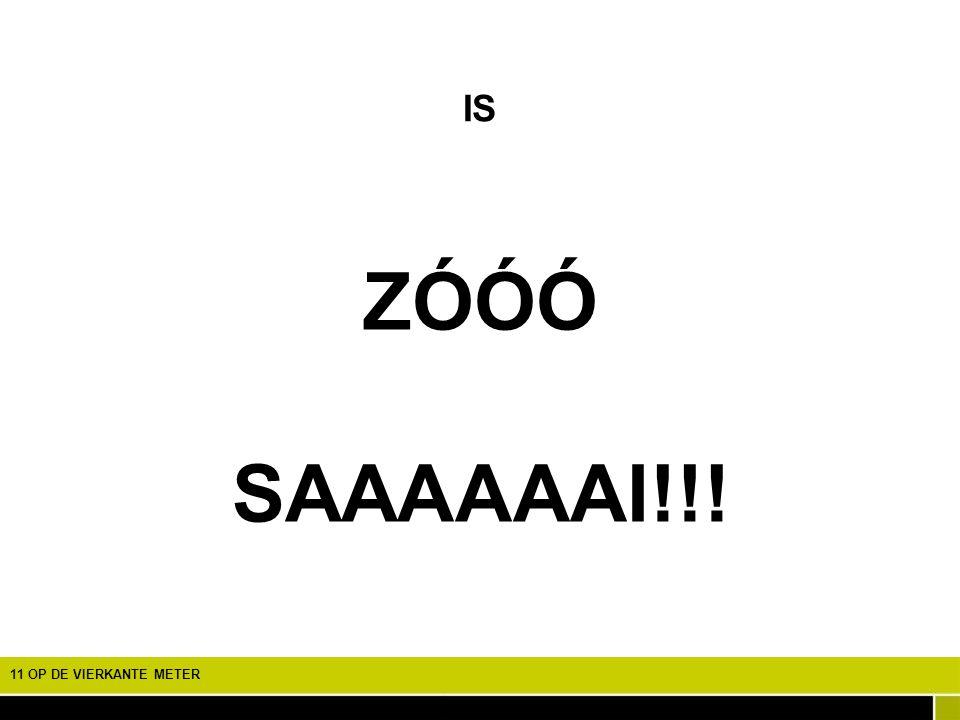 ZÓÓÓ SAAAAAAI!!! IS EEN SPEURTOCHT NAAR DE BIODIVERSITEIT