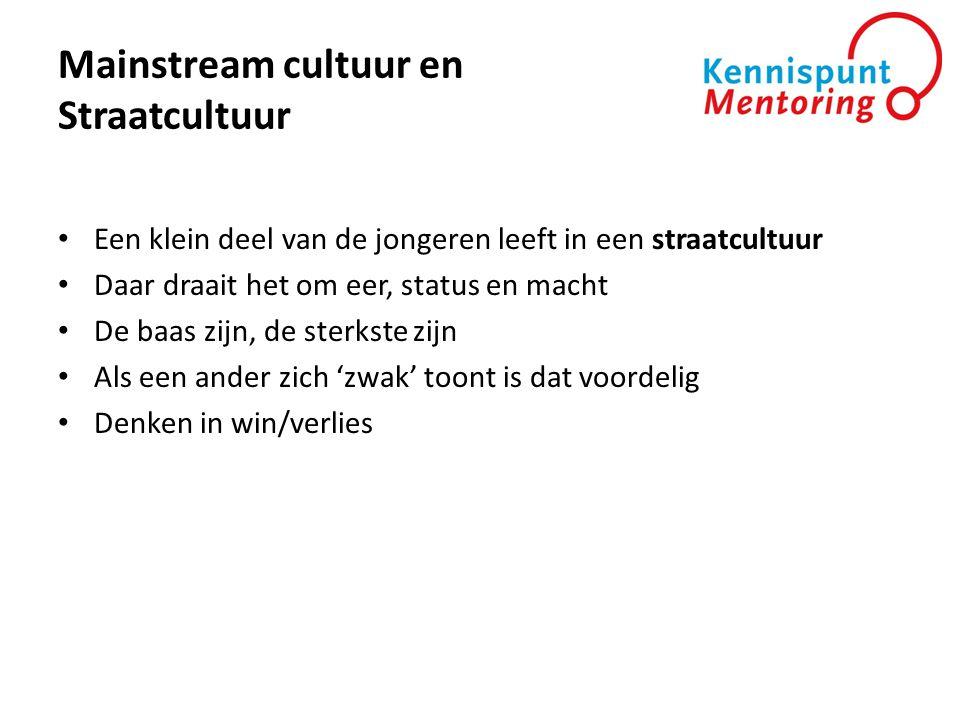 Mainstream cultuur en Straatcultuur