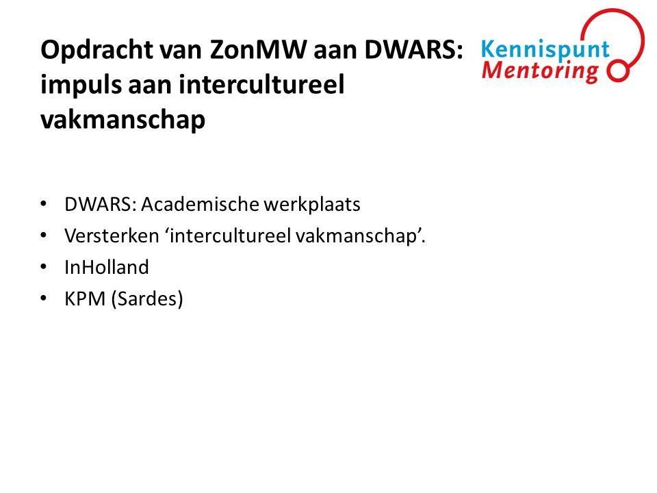Opdracht van ZonMW aan DWARS: impuls aan intercultureel vakmanschap
