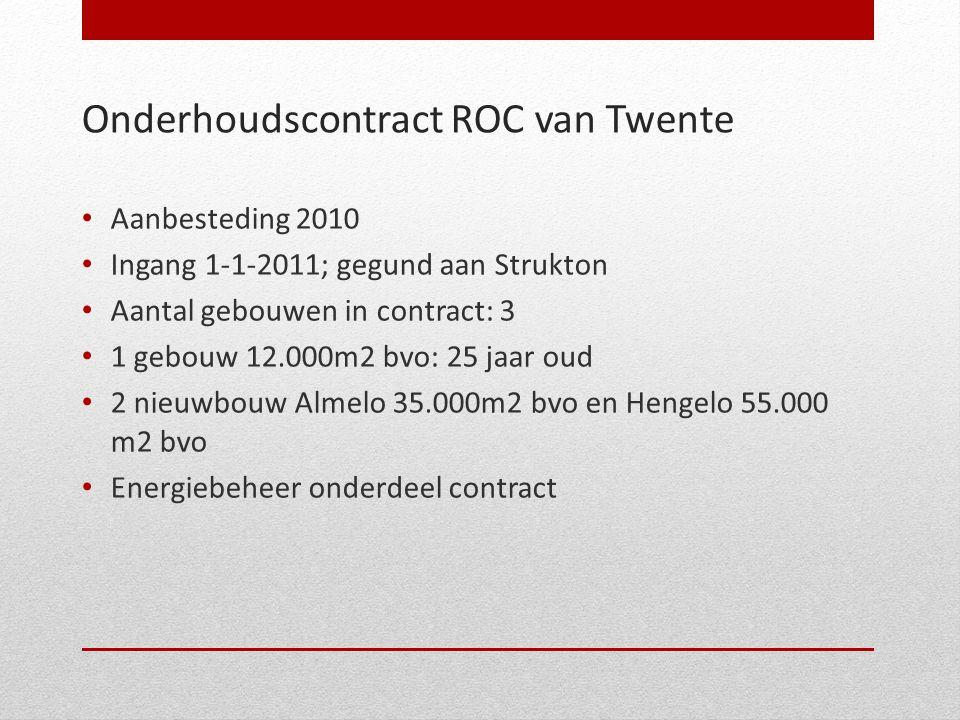 Onderhoudscontract ROC van Twente