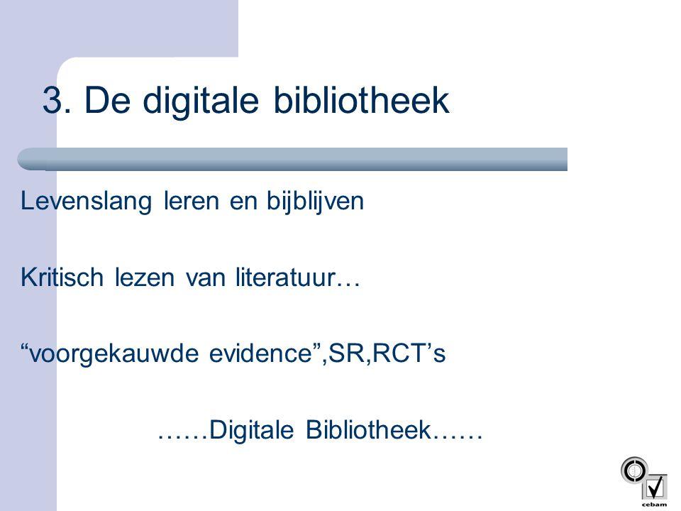 3. De digitale bibliotheek