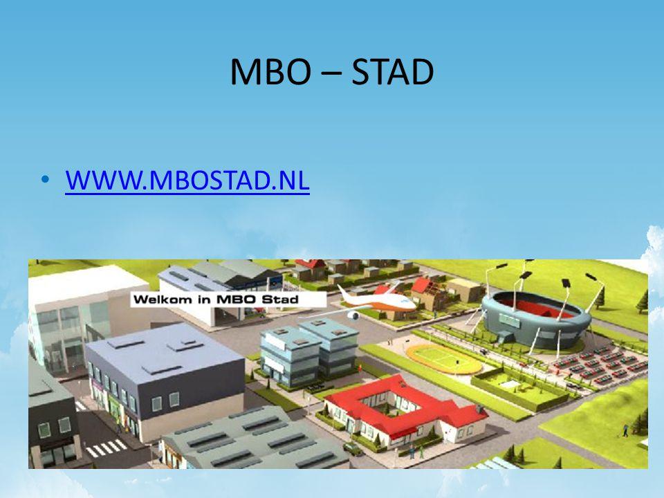 MBO – STAD WWW.MBOSTAD.NL