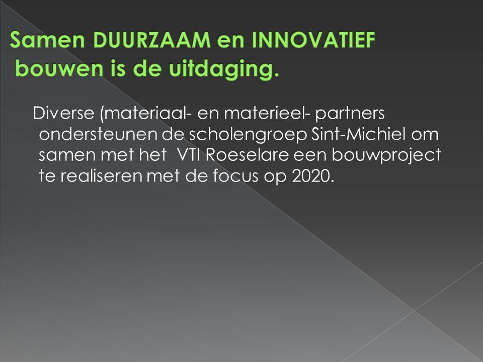 Samen duurzaam en innovatief bouwen is de uitdaging.