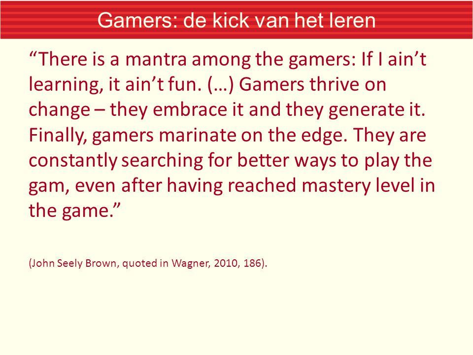 Gamers: de kick van het leren