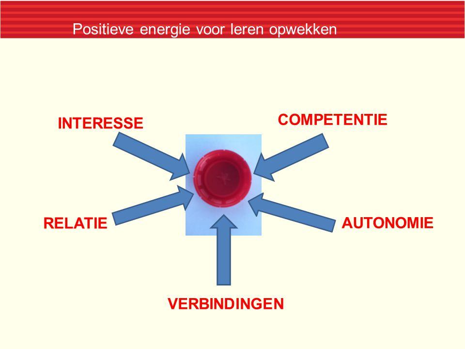 Positieve energie voor leren opwekken