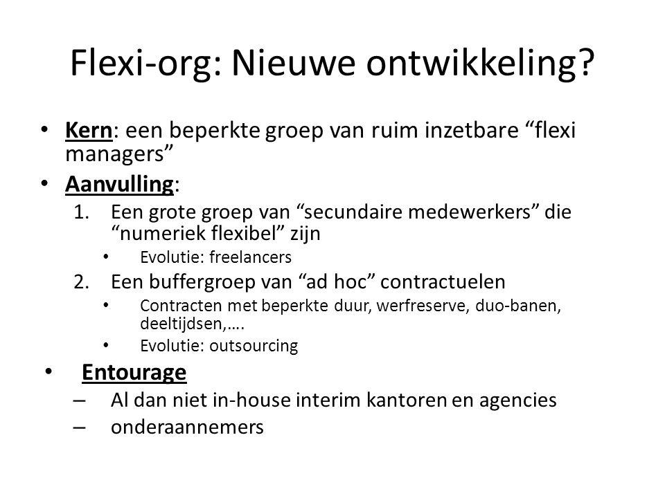 Flexi-org: Nieuwe ontwikkeling