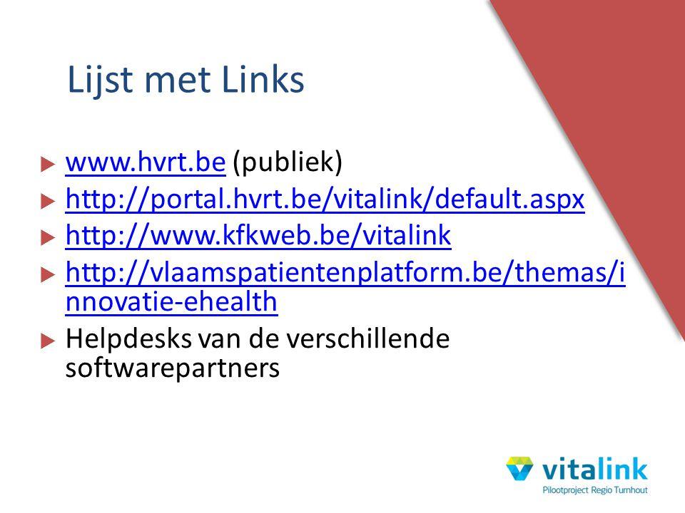 Lijst met Links www.hvrt.be (publiek)