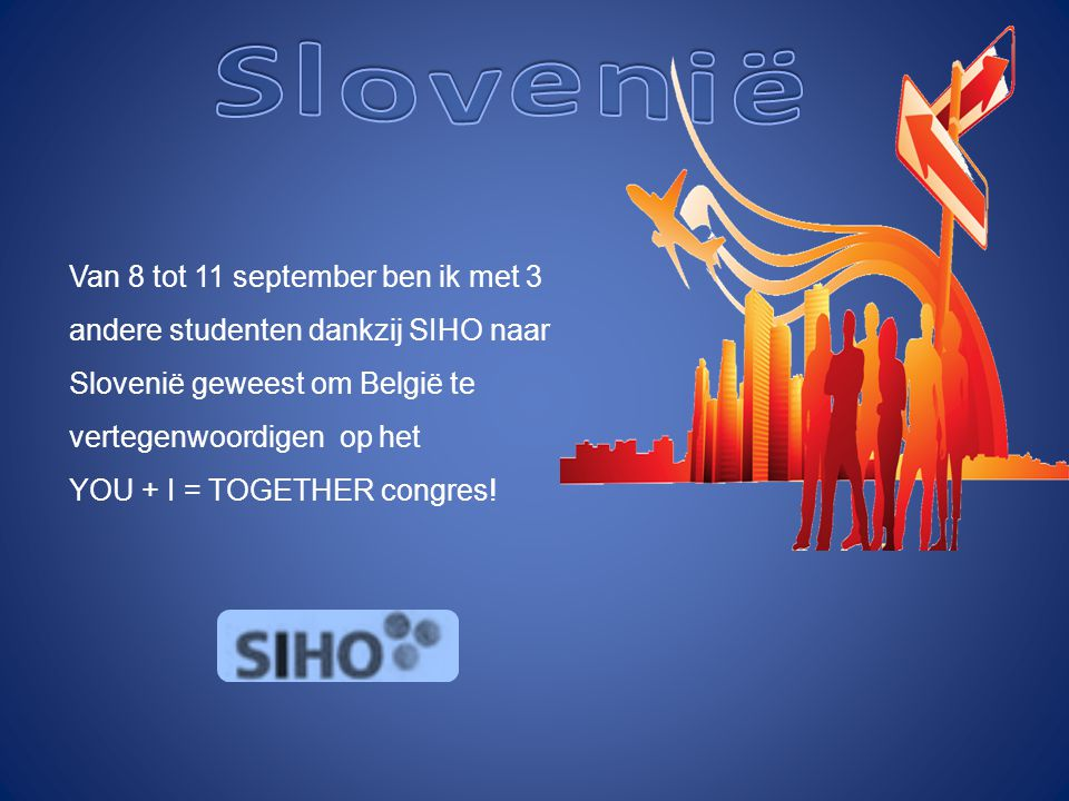 YOU + I = TOGETHER congres!