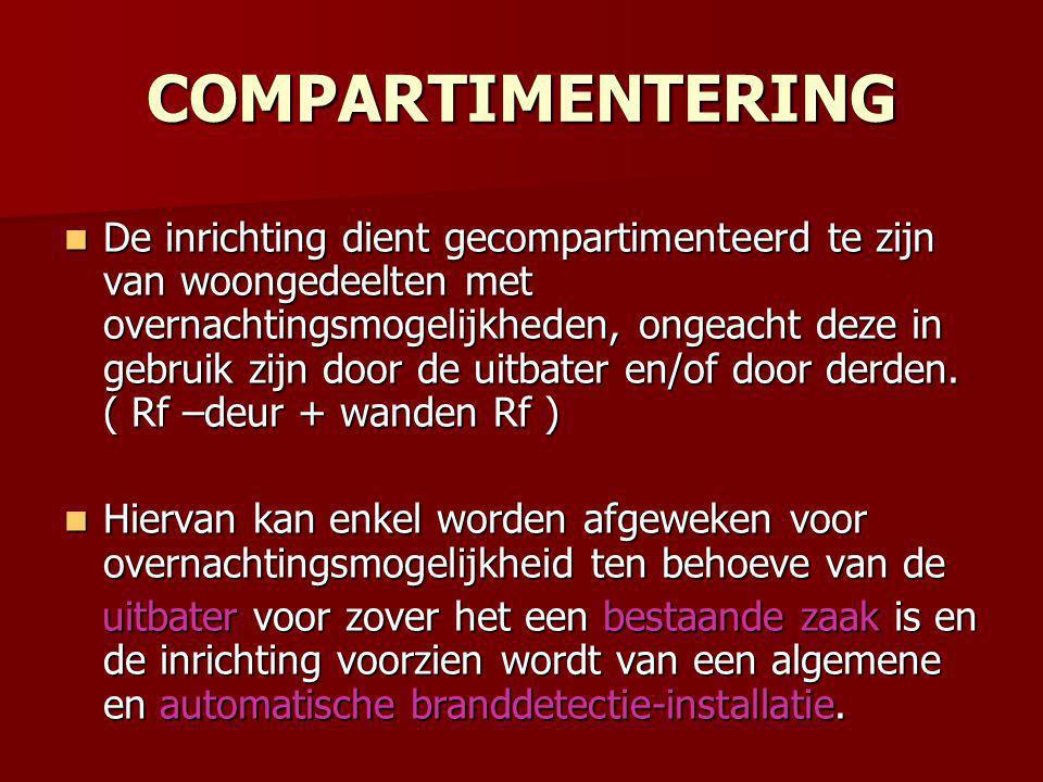 COMPARTIMENTERING