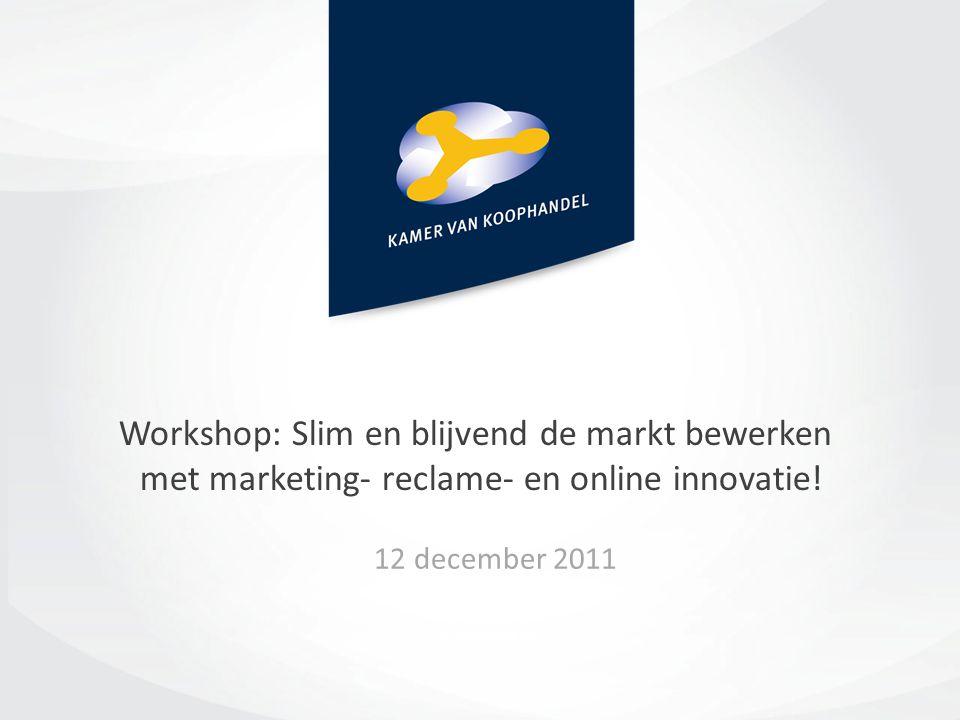 Workshop: Slim en blijvend de markt bewerken