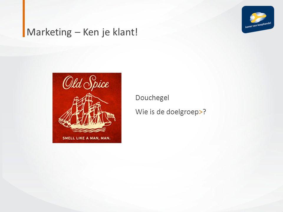 Marketing – Ken je klant!