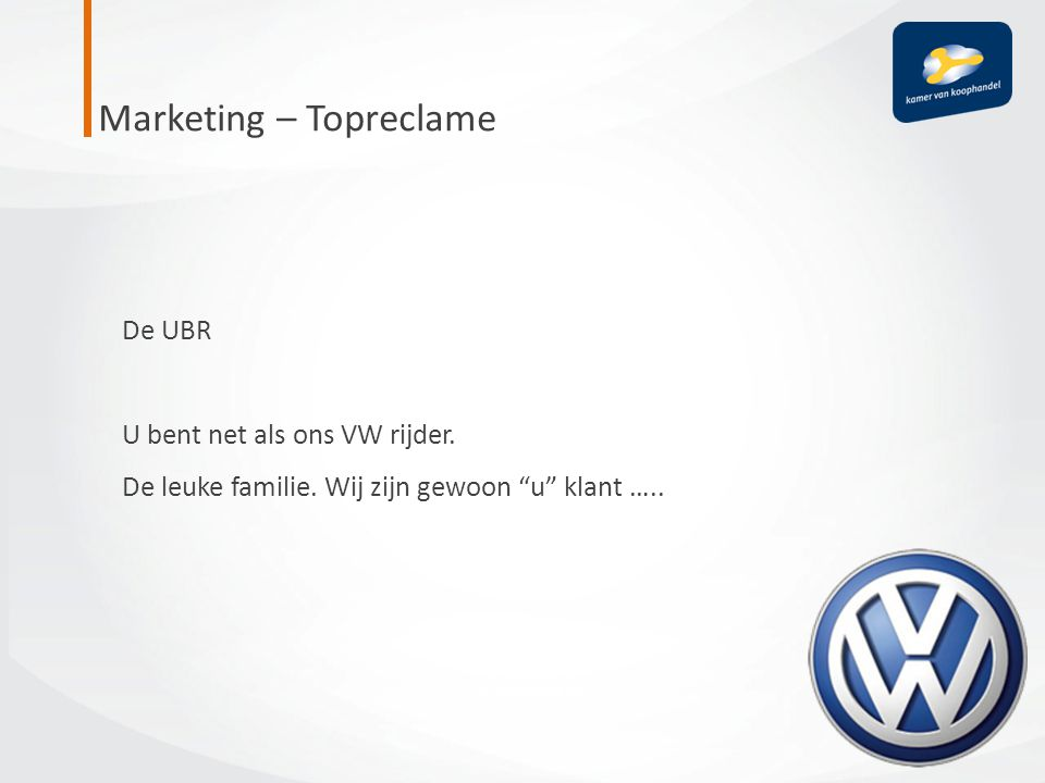 Marketing – Topreclame