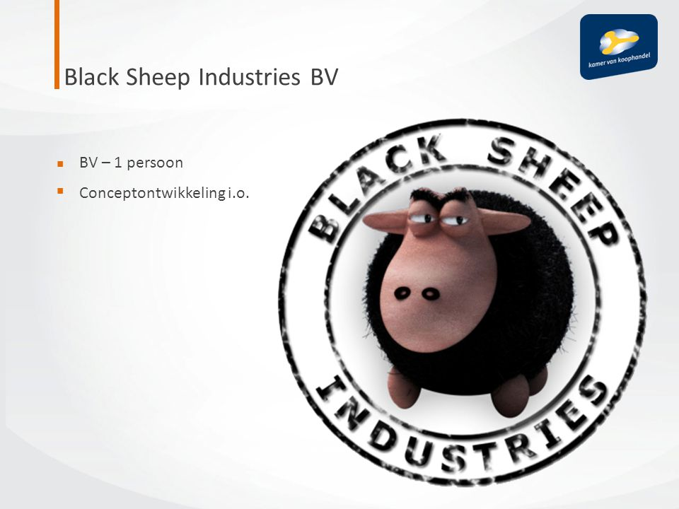 Black Sheep Industries BV
