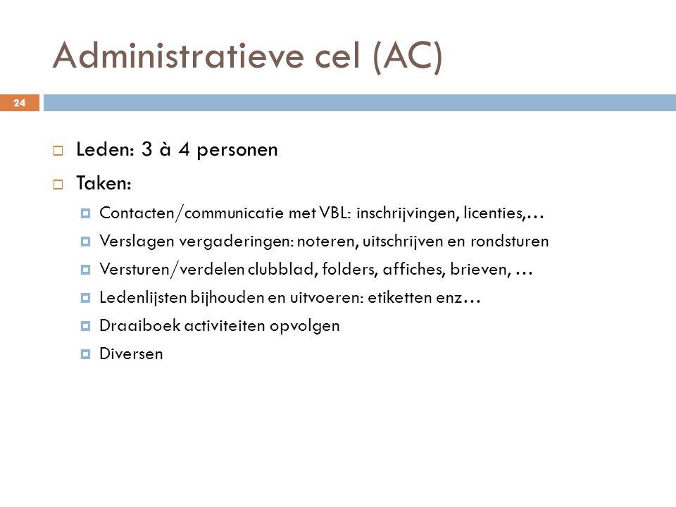 Administratieve cel (AC)