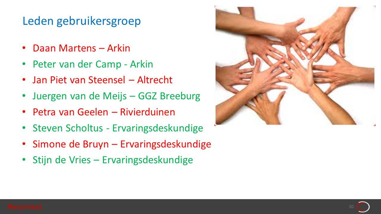 Leden gebruikersgroep