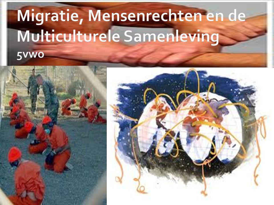 Migratie, Mensenrechten en de Multiculturele Samenleving 5vwo
