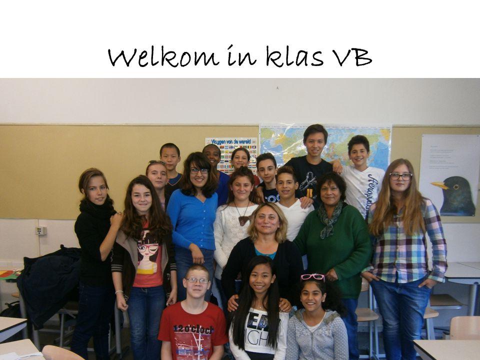 Welkom in klas VB