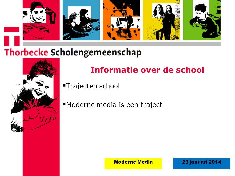 Informatie over de school