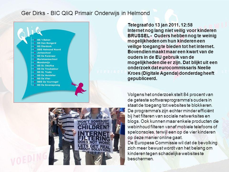 Ger Dirks - BIC QliQ Primair Onderwijs in Helmond