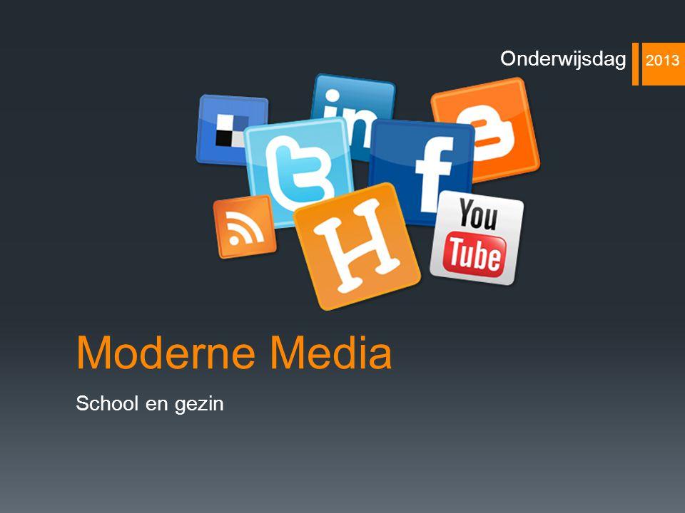 Onderwijsdag 2013 Moderne Media School en gezin