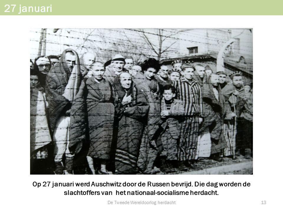 De Tweede Wereldoorlog herdacht