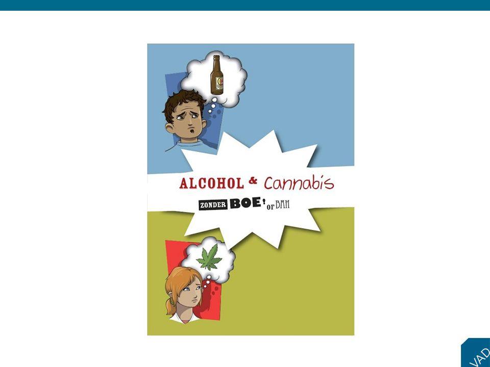 Het pakket 'Alcohol en cannabis… zonder boe of bah' maakt jongeren met een verstandelijke beperking bewust van de effecten, risico's en gevolgen van het gebruik van alcohol en cannabis.