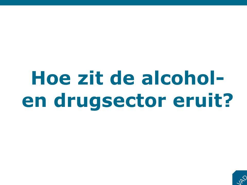 Hoe zit de alcohol- en drugsector eruit
