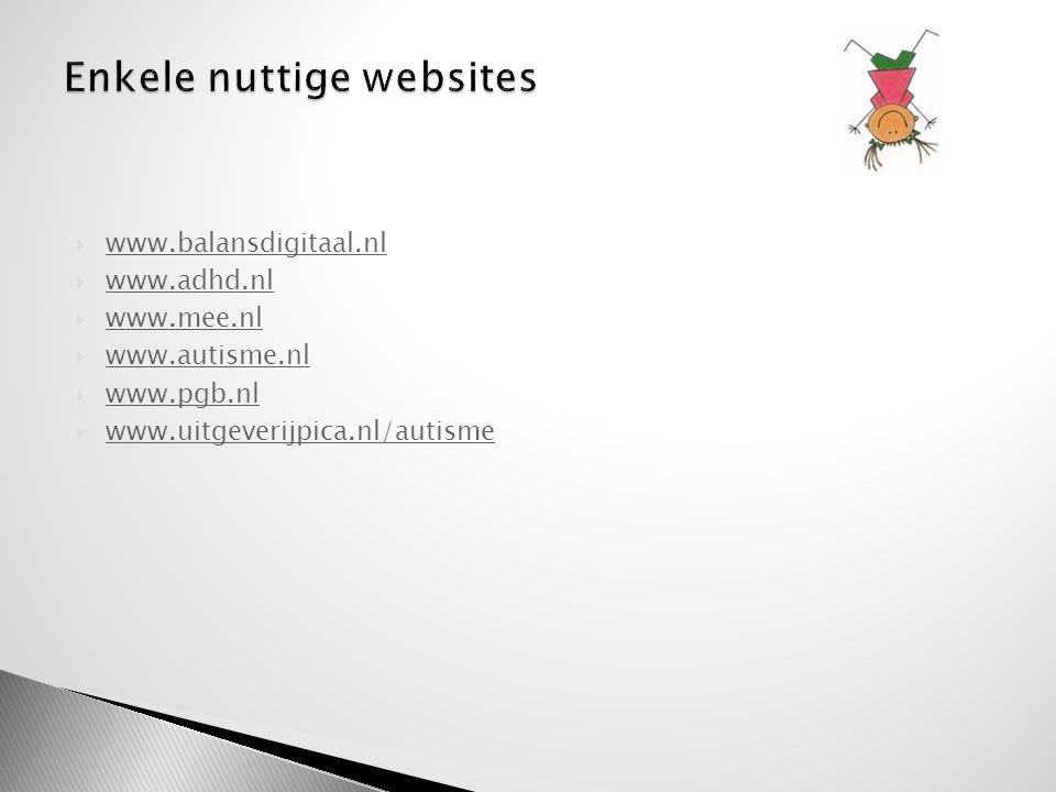 Enkele nuttige websites