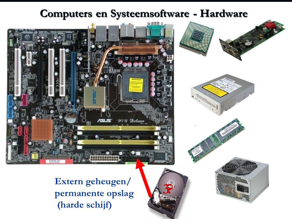Computers en Systeemsoftware - Hardware