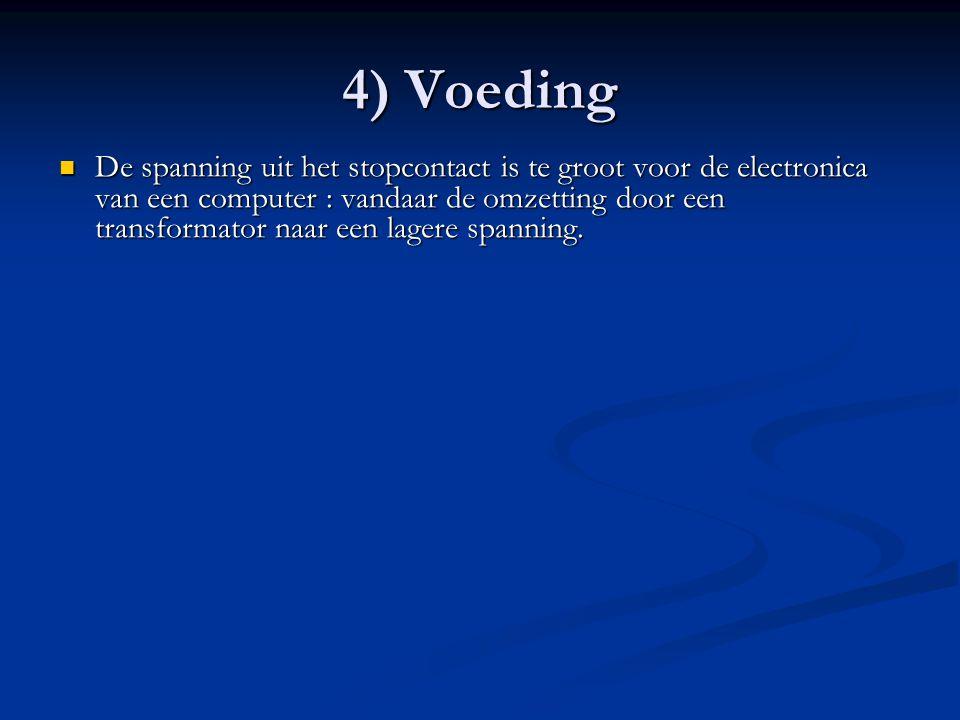 4) Voeding
