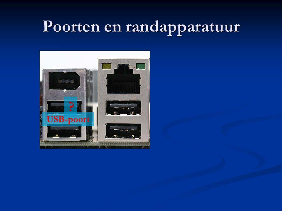 Poorten en randapparatuur