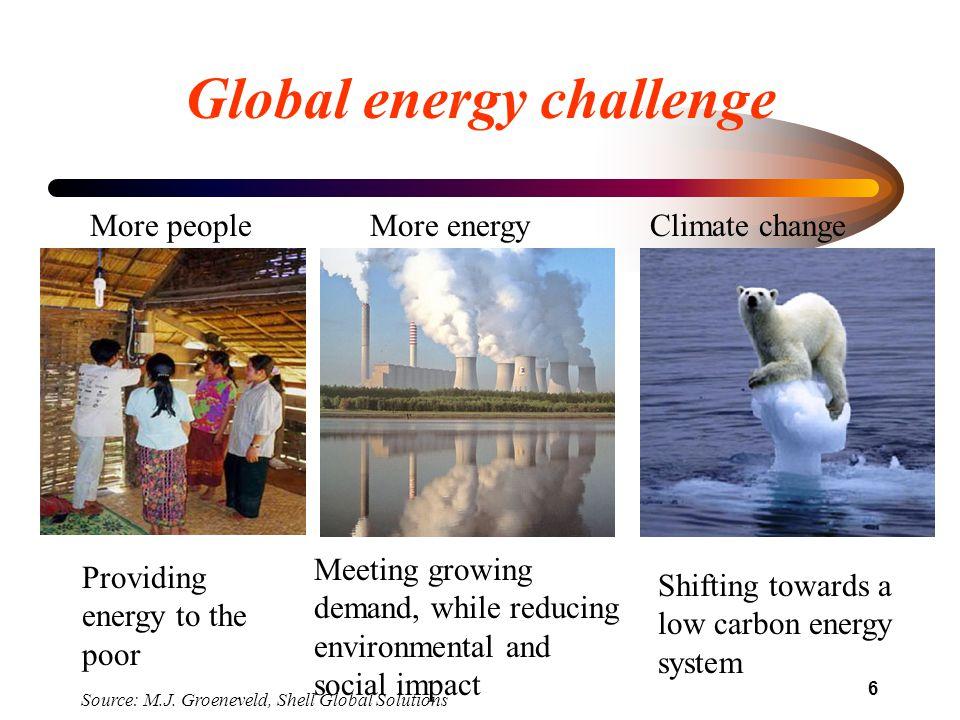 Global energy challenge