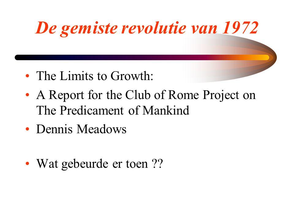 De gemiste revolutie van 1972
