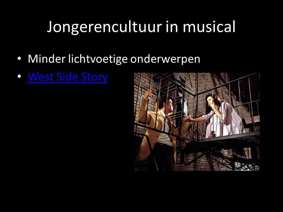Jongerencultuur in musical