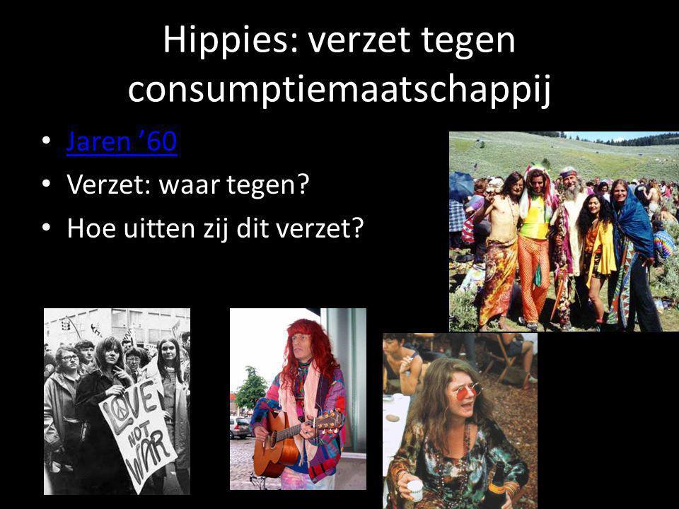Hippies: verzet tegen consumptiemaatschappij