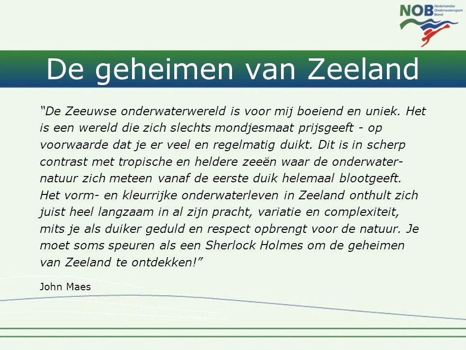 De geheimen van Zeeland