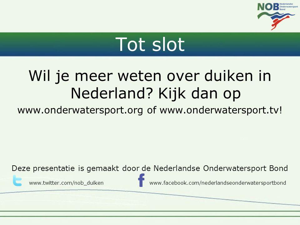 Tot slot Wil je meer weten over duiken in Nederland Kijk dan op