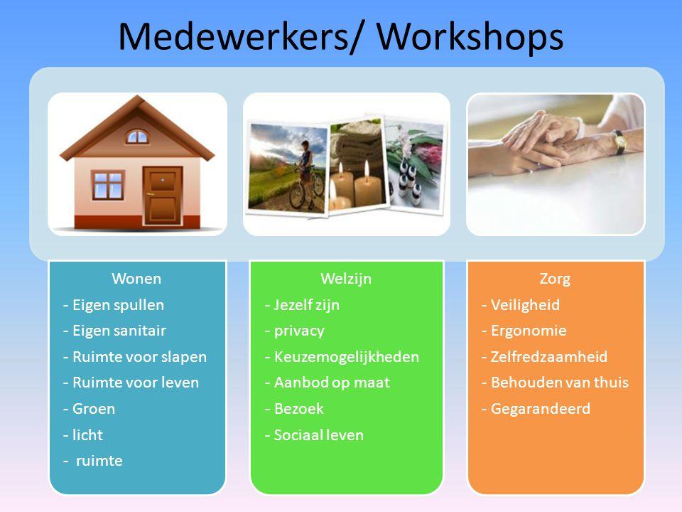 Medewerkers/ Workshops