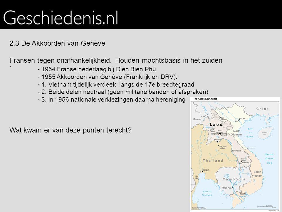 2.3 De Akkoorden van Genève