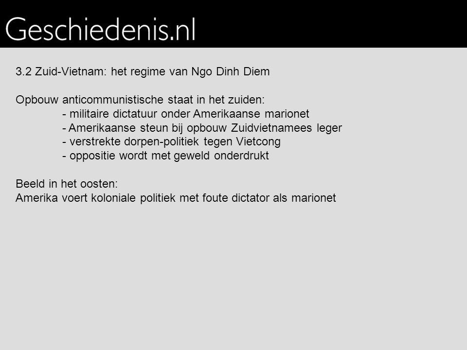 3.2 Zuid-Vietnam: het regime van Ngo Dinh Diem