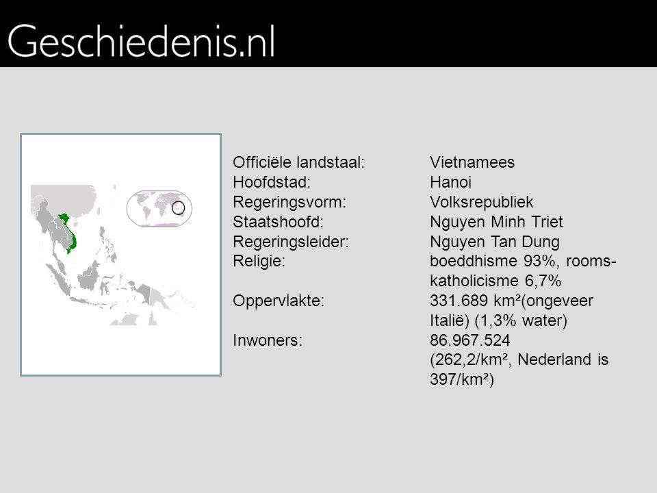 Officiële landstaal: Vietnamees