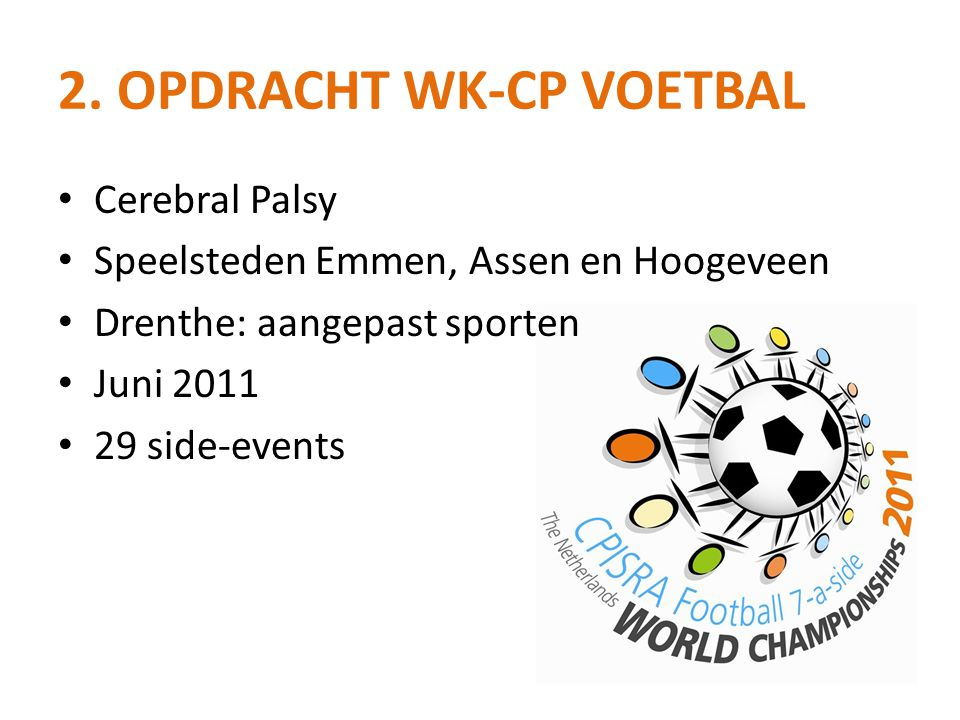 2. Opdracht WK-CP Voetbal
