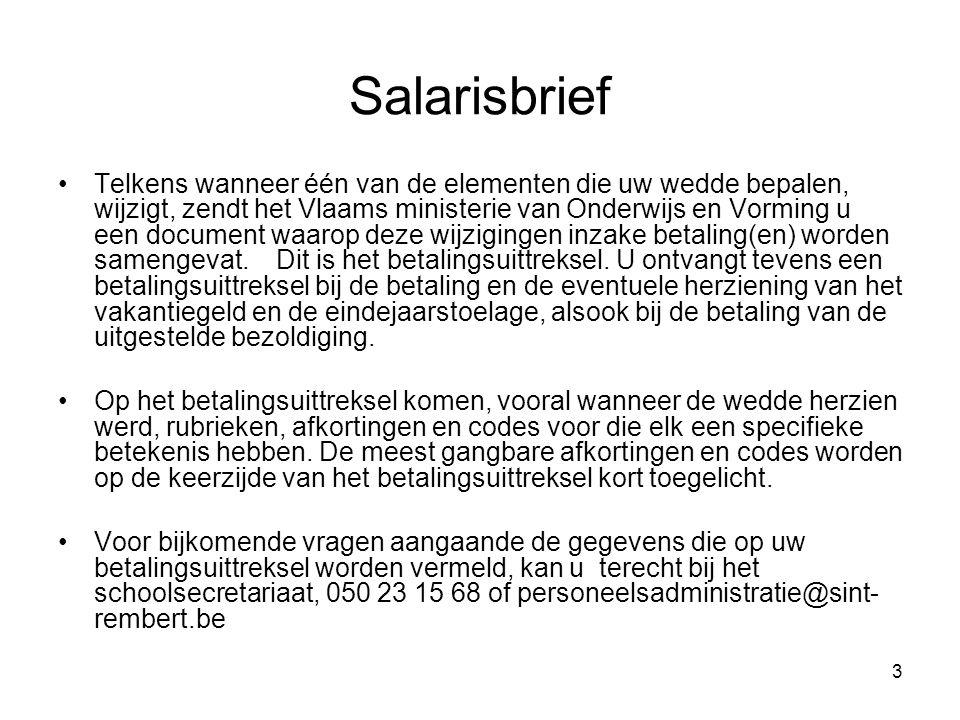 Salarisbrief