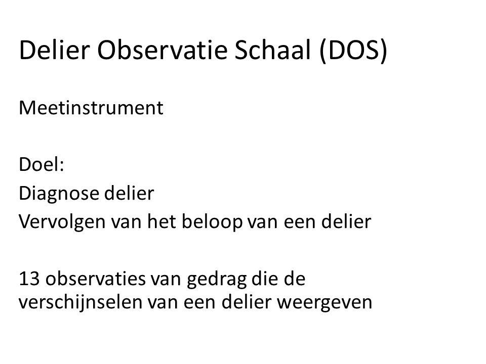 Delier Observatie Schaal (DOS)