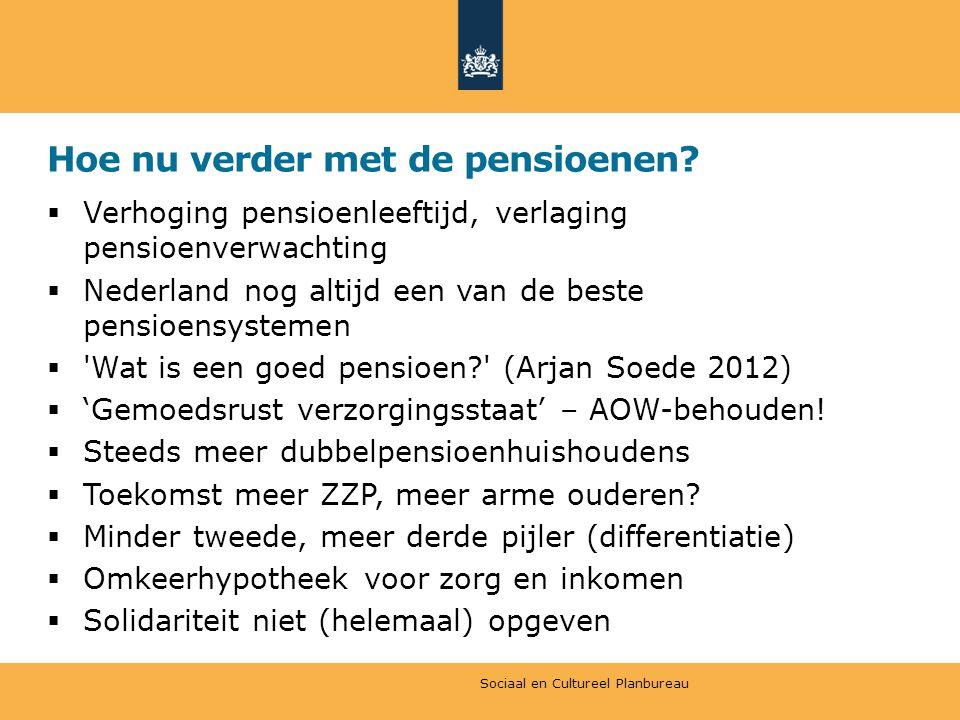 Hoe nu verder met de pensioenen