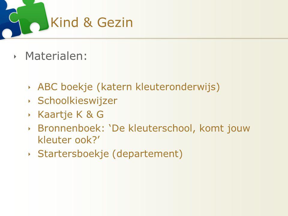 Kind & Gezin Materialen: ABC boekje (katern kleuteronderwijs)