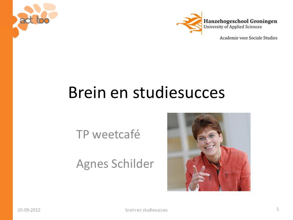 TP weetcafé Agnes Schilder