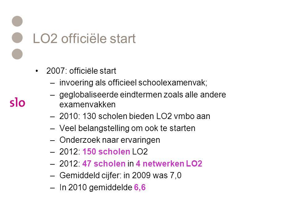 LO2 officiële start 2007: officiële start
