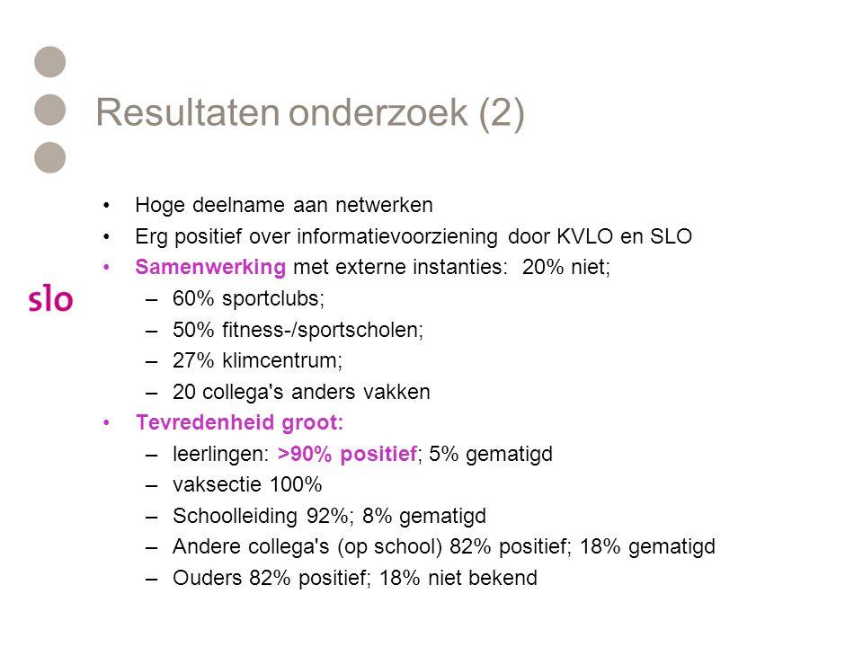 Resultaten onderzoek (2)